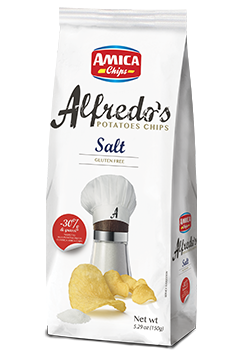 ALFREDO\'S CHIPS SEA SALT 150 G